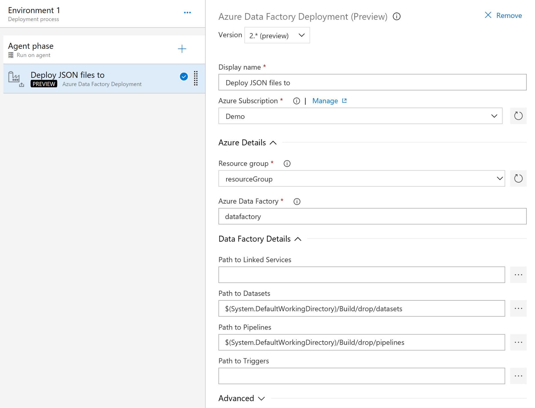 Azure Data Factory - Visual Studio Marketplace